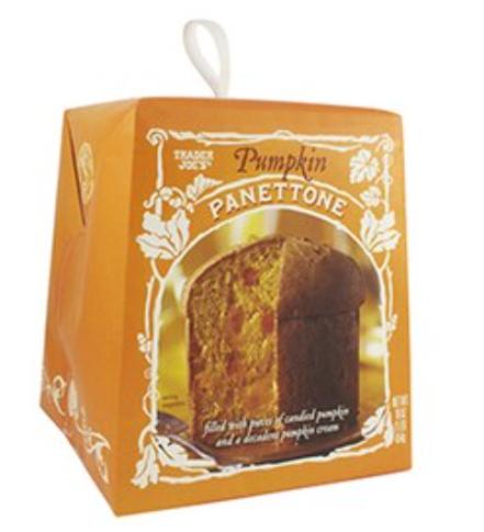 Pumpkin Panettone, $4.99
