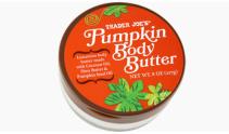 Pumpkin Body Butter, $4.99